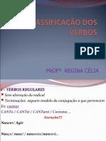 3º ano - gram - regina - verbos regulares,irregulares e anômalos