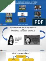 ¿Porque decimos Entrenamiento Sistémico en el Fútbol - Lic. Jorge Daniel Giri