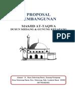 proposal-masjid