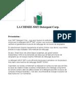 LA CHIMIE-SMT Detergent Corp.