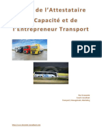 guide attestataire capacite