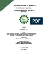 BIOINFORMATICA - CALIDAD Y ALINEAMIENTO DE SECUENCIAS DE ADN Y GENERACION DE ARBOLES FILOGENETICOS EN BASE AL GENE NIF H (FIJACION BIOLOGICA DE NITROGENO)