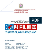 INDUSTRIAL VISIT TO UFLEX REPORT-PRANAY