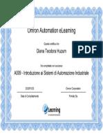 Introduzione ai Sistemi di Automazione Industriale (1)
