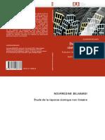 Etude de La Reponse Sismique Non Lineaire -Evaluation Du Coefficient de Comportement Global d Une Structure