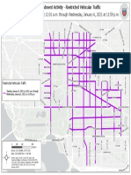 January 5th - 6th, 2020 First Amendment Restricted Vehicular Traffic Map