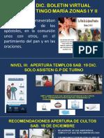 ANUNCIONS SAB. 19 DIC. TINGO MARIA ZONAS I Y II
