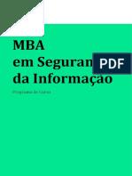 Programa de Curso - Segurança da Informação20203