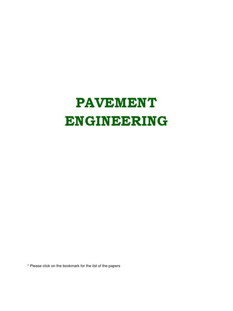 Pavement_Engineering   Road Surface   Asphalt on