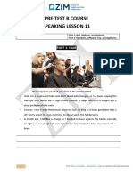PreB speaking 8