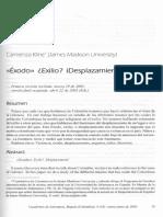 Kline - Desplazamiento en Colombia.pdf
