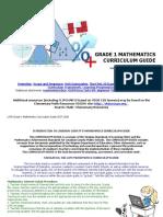 Math Grade 1 Mathematics FULL CG 17-18