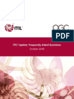 ITIL Update FAQs FINAL