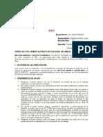 CONTESTACION DE DEMANDA DE DIVORCIO