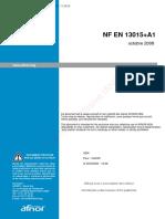 NF EN 13015+A1