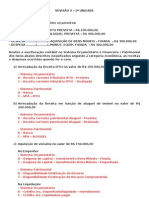 REVISÃO II - Contabilidade Pública
