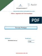 Rapport de TP Profil d'aile Fluent