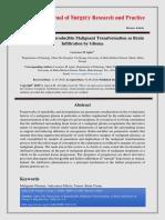 Dimensions of Reproducible Malignant Transformation