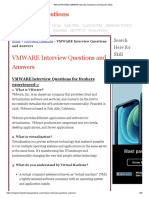 300+ [UPDATED] VMWARE Interview Questions and Answers 2020
