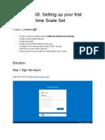 Azure VMSS Setup