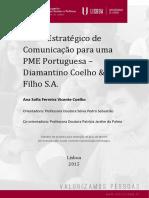 Plano Estratégico de Comunicação para uma PME Portuguesagravarcd