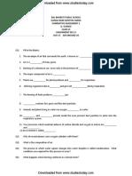 CBSE Class 6 General Science Practice Worksheets (13)