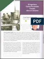 El ingeniero Carlos Fernández Casado. Obra en Llaranes