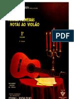 Metodo de Violão Erudito-Minhas Primeiras Notas ao Violão (Vol 1).pdf