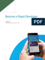 Rapid Developer - Module 7 Advanced Microflows