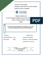 Les Banques Islamiques en Algerie