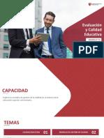 Evaluación y Calidad Educativa - Semana 1