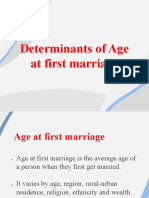 Determinants of Age at first marriage.pdf