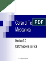 Corso di Tecnologia Meccanica - Mod.3.2 Deformazione plastica.pdf