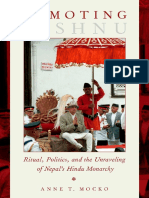 Demoting Vishnu ritual, politics, and the unraveling of Nepals Hindu monarchy by Mocko, Anne T (z-lib.org)