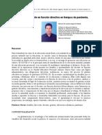 Desafíos del docente en función directiva en tiempos de pandemia.