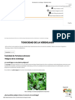 Toxicidad de la verdolaga – Botanical-online