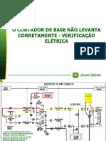 101-O CORTADOR DE BASE NÃO LEVANTA CORRETAMENTE - VERIFICAÇÃO ELÉTRICA.ppsx