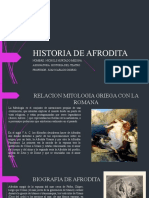 HISTORIA DE AFRODITA