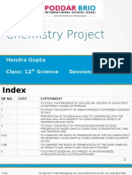 Chemistry Practical Book Class 12