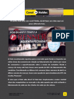 Fabio Holder-Quanto tempo LREN3 aguentaria de quarentena