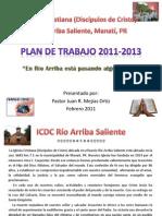 Plan de Trabajo ICDC Rio Arriba Saliente 2011-2013