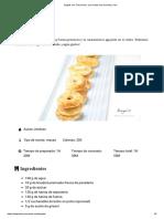 Bagels con Thermomix, una receta muy sencilla y rica
