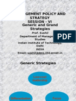 01 Porters Generic Strategies and More