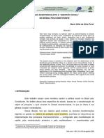 """ESTADO ASSISTENCIALISTA E """"QUESTÃO SOCIAL"""""""