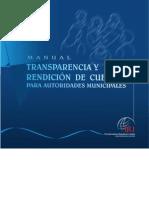Manual de Transparencia y Rendición de Cuentas
