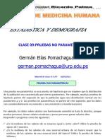 PRUEBAS NO PARAMETRICAS 2020-URP