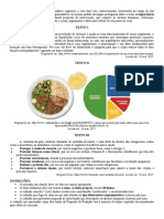 Proposta 09 - A importancia da alimentação saudável