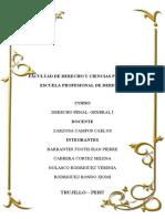 INFORME FINAL D.PENAL