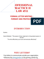 FORMAL LETTERS - FORMAT AND PROTOCOL.pptx