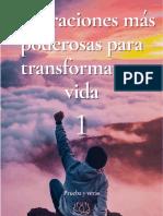 Las oraciones más poderosas para transformar tu vida